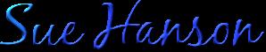 Sue Hanson signature