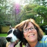 My dog, Tippie, and me