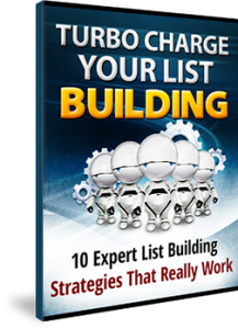 Turbo Charge Your List Building