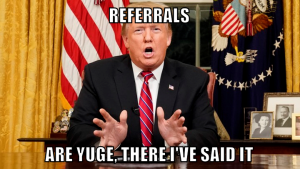 trump referral